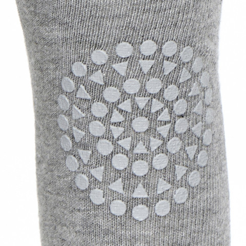 GoBabyGo Leggings Grey Melange Close Up Large