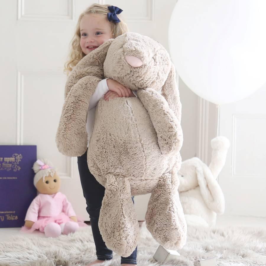 Original Giant Bashful Bunny