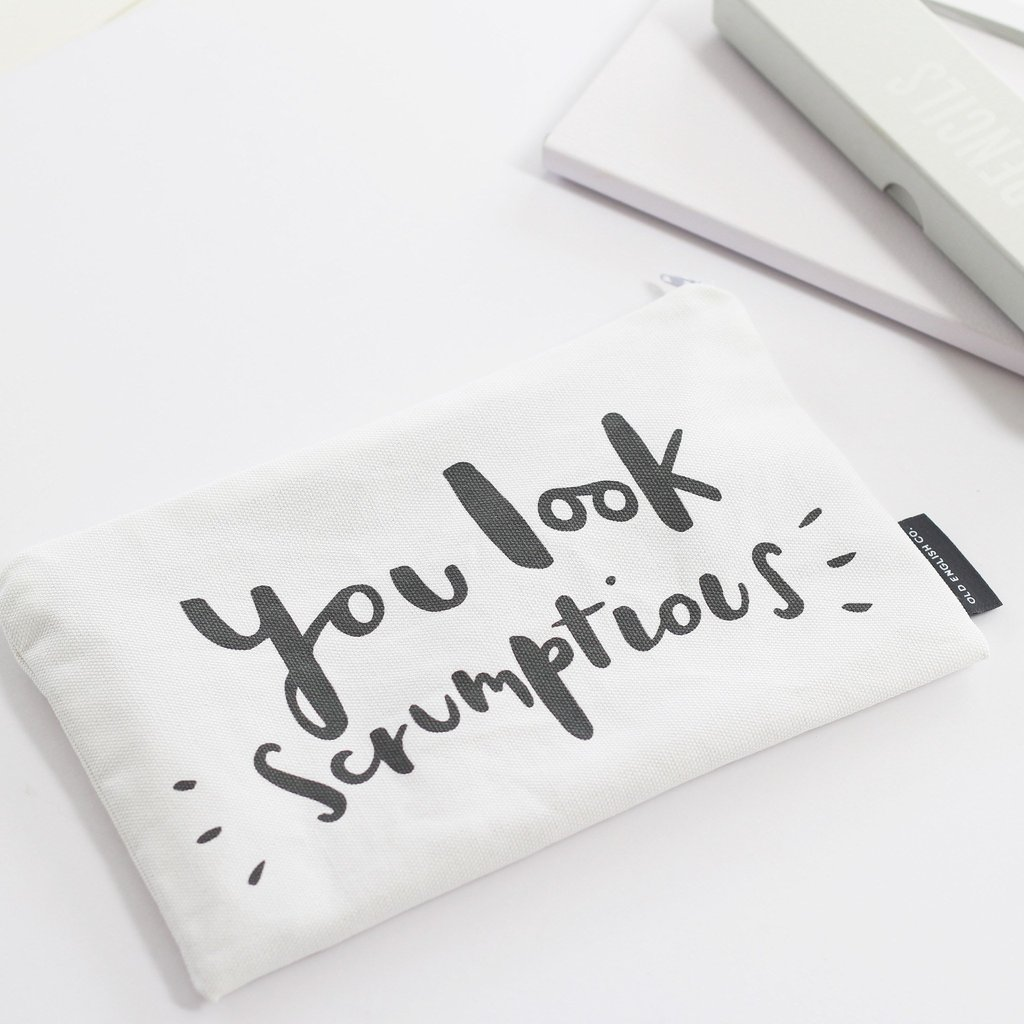 You Look Scrumptious Make Up Pouch 1 1024x1024