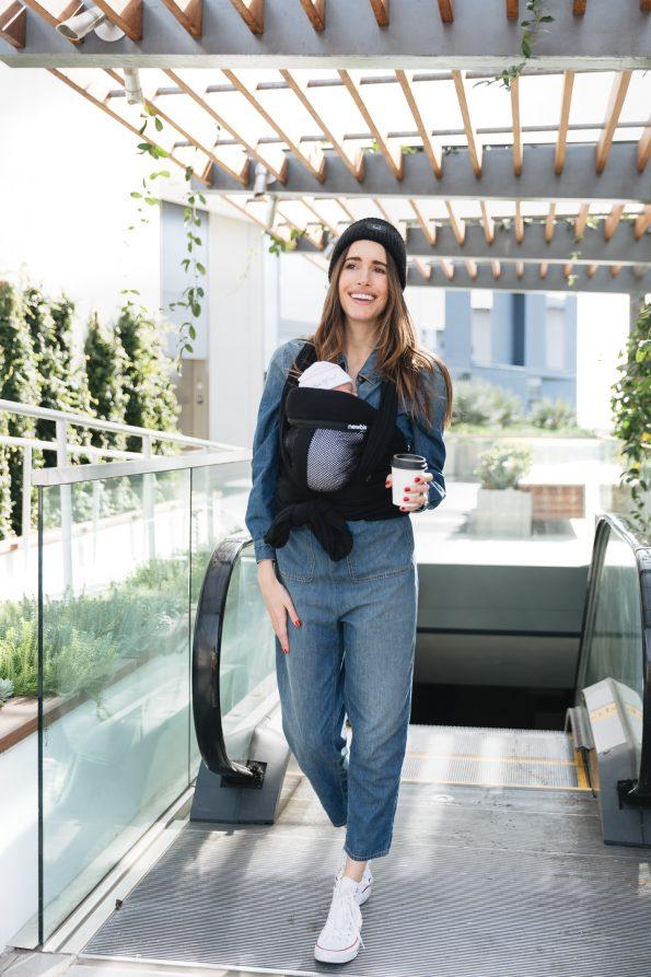 Louise-Roe-wearing-Newbie-Love-baby-wrap-carrier-5