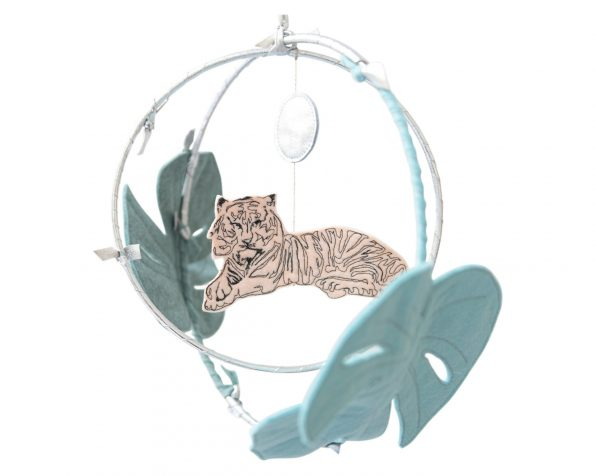 Baby_Jives_Co_Tiger_in_Jungle_Circle_Mobile_in_Turquoise_Peach_and_Silver