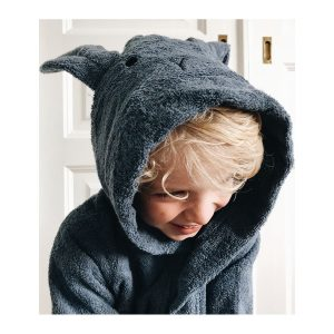 Lily Bathrobe – Rabbit Blue Wave