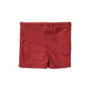 Otto Swim Pants – Classic Dot Rusty