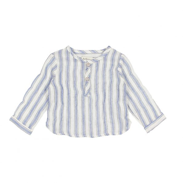 BB PAUL STRIPES SHIRT INDIGO