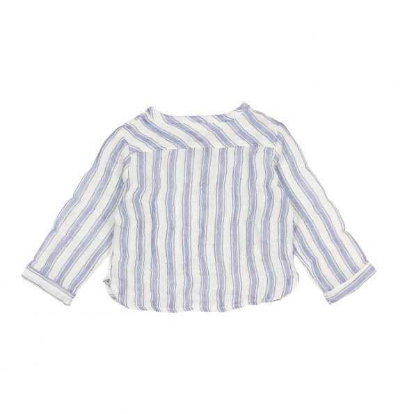 BB PAUL STRIPES SHIRT INDIGO BAC