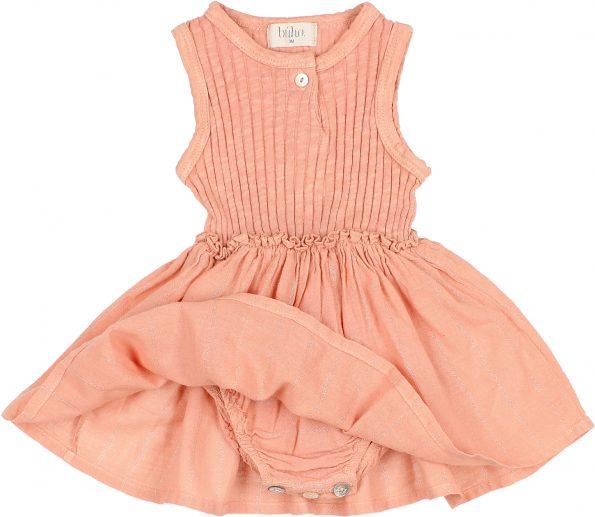9105 BABY COMBI CULOTTE DRESS SIENA DETAIL