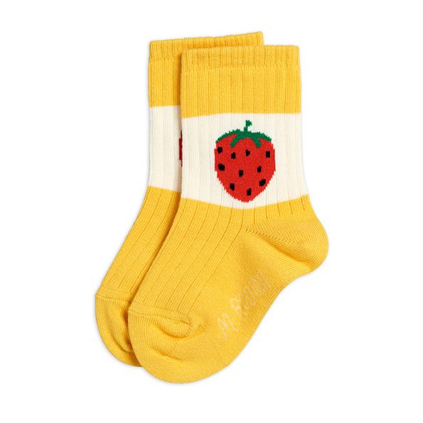 socksstrawberryellow