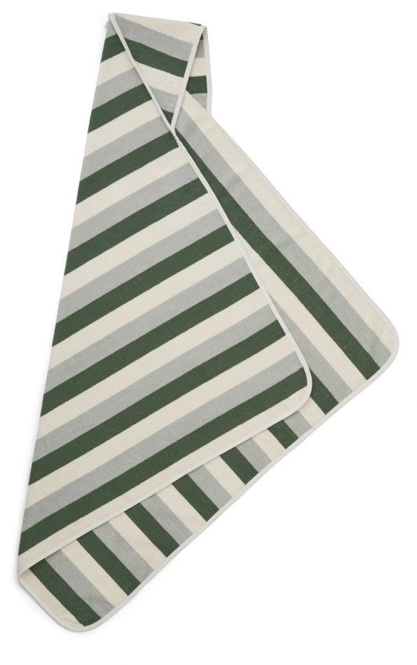LW12948 – 7373 Y-D stripe_ Garden green-sandy-dove blue – Extra 1