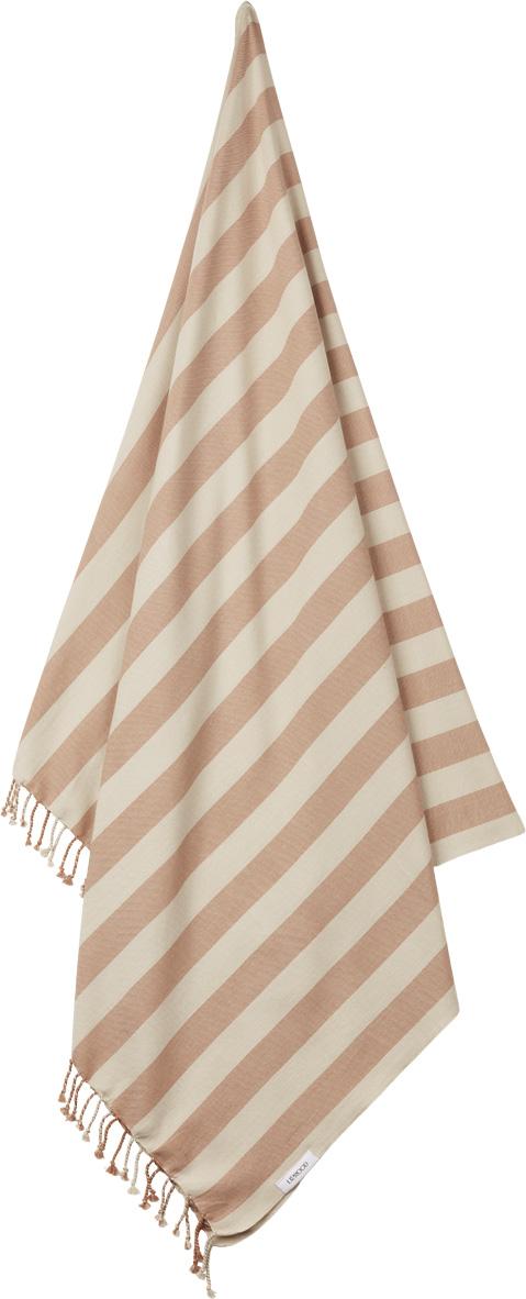 LW14164 – 2086 Y-D Stripe_ Tuscany rose-sandy – Extra 1