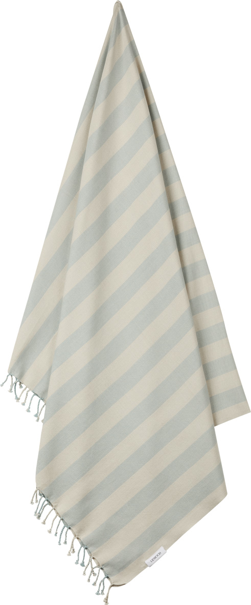 LW14164 – 6908 Y-D stripe_ Sea blue-sandy – Extra 1