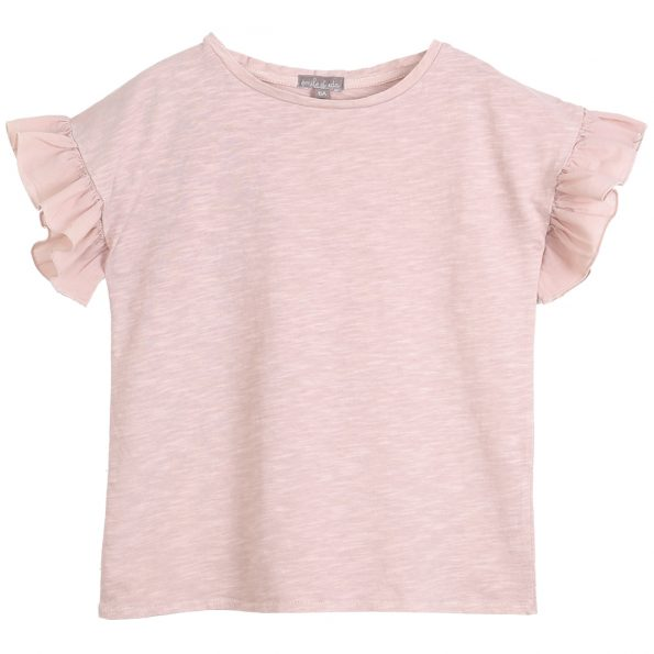 S139-fille-teeshirt-coton-bio-volants-rose
