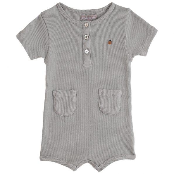 S141-bébé-combinaison-côte-coton-bio-gris-argile