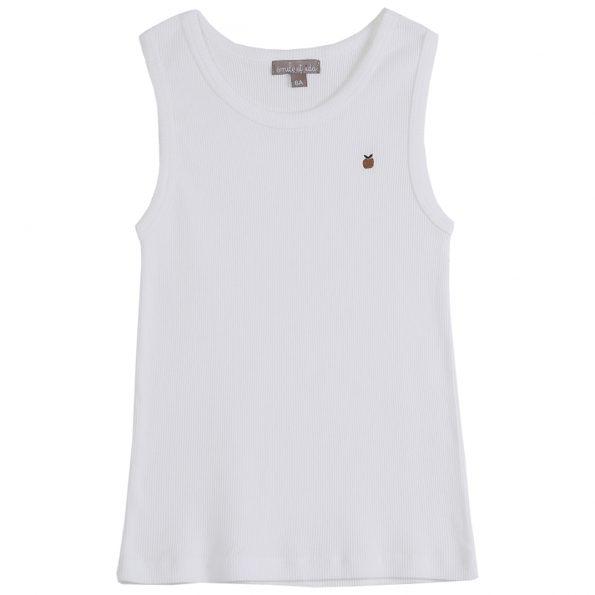 S144-garçon-teeshirt-débardeur-côte-coton-bio-blanc-ecru