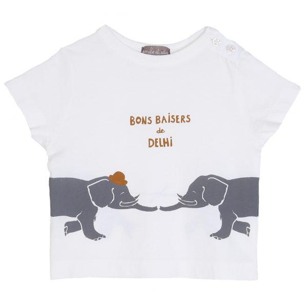 S183-bébé-teeshirt-coton-blanc-ecru-devant (delhi)
