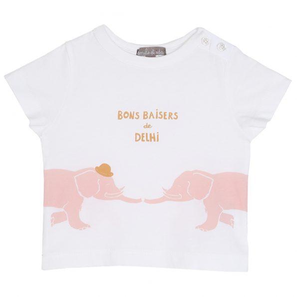 S183-bébé-teeshirt-coton-blanc-ecru-devant (delhi rose)